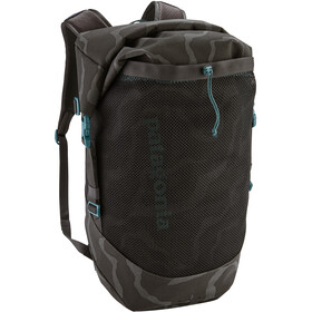 Patagonia Planing Roll Top Pack 35l, tiger tracks camo/ink black